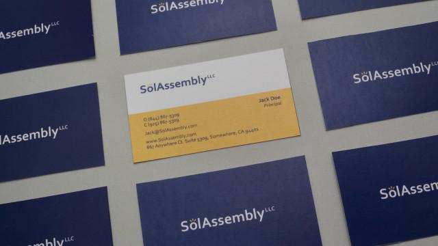 Brand, logo & web page, SolAssembly